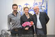 Kaffeesiederball Fächerpräsentation - Galerie Ernst Hilger - Mo 20.11.2017 - Anna KARNITSCHER, Jakob KIRCHMAYR, Ernst HILGER5