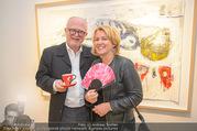 Kaffeesiederball Fächerpräsentation - Galerie Ernst Hilger - Mo 20.11.2017 - Ernst HILGER mit Freundin Caroline39