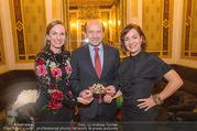Swarovski Tiara für Opernball 2018 - Staatsoper - Di 21.11.2017 - Maria GRO�BAUER GROSSBAUER, Dominique MEYER, Birgit BERTHOLD-KR17