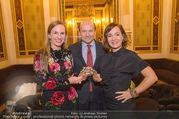 Swarovski Tiara für Opernball 2018 - Staatsoper - Di 21.11.2017 - Maria GRO�BAUER GROSSBAUER, Dominique MEYER, Birgit BERTHOLD-KR19