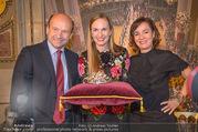 Swarovski Tiara für Opernball 2018 - Staatsoper - Di 21.11.2017 - Maria GRO�BAUER GROSSBAUER, Dominique MEYER, Birgit BERTHOLD-KR38