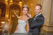 Swarovski Tiara für Opernball 2018 - Staatsoper - Di 21.11.2017 - Deb�dantin Cassandra, Hannes STEINMETZ-BUNDY68