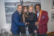 Manfred Baumann Mustangs - Naturhistorisches Museum NHM - Di 21.11.2017 - Roberto BLANCO mit Ehefrau Luzandra, Manfred und Nelly BAUMANN6