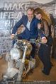 Manfred Baumann Mustangs - Naturhistorisches Museum NHM - Di 21.11.2017 - Manfred und Nelly BAUMANN auf Motorrad7