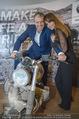 Manfred Baumann Mustangs - Naturhistorisches Museum NHM - Di 21.11.2017 - Manfred und Nelly BAUMANN auf Motorrad9