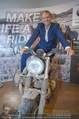 Manfred Baumann Mustangs - Naturhistorisches Museum NHM - Di 21.11.2017 - Manfred BAUMANN auf Motorrad10
