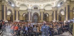 Manfred Baumann Mustangs - Naturhistorisches Museum NHM - Di 21.11.2017 - Publikum, Zuseher, G�ste, Kuppelsaal48