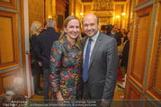 Roman Svabek Buchpräsentation - Staatsoper - Di 28.11.2017 - Maria GRO�BAUER GROSSBAUER, Dominique MEYER15