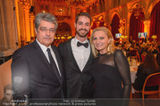 LOOK Woman of the Year Gala 2017 - Rathaus - Mi 29.11.2017 - Familie Wolfgang und Brigitte HESOUN mit Sohn Benedikt241