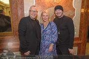 70 Jahresfeier - Modeschule Hetzendorf - Do 30.11.2017 - JC J�rgen Christian H�RL, Liane SEITZ, Wolfgang REICHL1