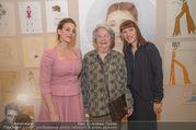 70 Jahresfeier - Modeschule Hetzendorf - Do 30.11.2017 - Lena HOSCHEK, Anni RADNITZKY, Monika KYCELT18