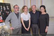 Maria Theresia ORF Präsentation - Schloss Esterhazy - Mo 11.12.2017 - Robert DORNHELM, Karl MARKOVICS, Marie-Luise STOCKINGER, Julia S51