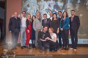 Maria Theresia ORF Präsentation - Schloss Esterhazy - Mo 11.12.2017 - Gruppenfoto Cast, Schauspieler124