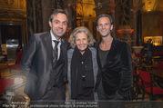 Dagmar Koller Buchpräsentation - Naturhistorisches Museum NHM - Di 12.12.2017 - Michael BALGAVY, Inge UNZEITIG mit Sohn Kurt12