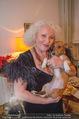 Marika Lichter X-Mas Cocktail - Privatwohnung Lichter - Di 12.12.2017 - Marika LICHTER mit Hund Ella (hatte gestern Geburtstag)3