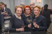 Marika Lichter X-Mas Cocktail - Privatwohnung Lichter - Di 12.12.2017 - Ingeborg SERAFIN, Inge KLINGOHR, Hermine F�RNKRANZ15
