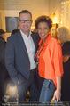 Marika Lichter X-Mas Cocktail - Privatwohnung Lichter - Di 12.12.2017 - Arabella KIESBAUER mit Ehemann Florens EBLINGER17