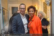 Marika Lichter X-Mas Cocktail - Privatwohnung Lichter - Di 12.12.2017 - Arabella KIESBAUER mit Ehemann Florens EBLINGER18