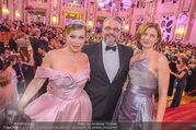 Silvesterball - Hofburg - So 31.12.2017 - Natalia USHAKOVA, Alexandra KASZAY, Christof CREMER3