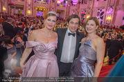 Silvesterball - Hofburg - So 31.12.2017 - Natalia USHAKOVA, Alexandra KASZAY, Werner SCHREYER4