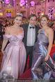 Silvesterball - Hofburg - So 31.12.2017 - Natalia USHAKOVA, Alexandra KASZAY, Werner SCHREYER5