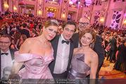 Silvesterball - Hofburg - So 31.12.2017 - Natalia USHAKOVA, Alexandra KASZAY, Werner SCHREYER8
