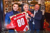 Sigi Bergmann 80er - Marchfelderhof - Do 04.01.2018 - Sigi BERGMANN, Marcos NADER, Joe Tiger BACHLER10