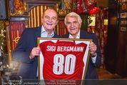 Sigi Bergmann 80er - Marchfelderhof - Do 04.01.2018 - Sigi BERGMANN, Herbert PROHASKA24