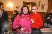 Kaffeesieder Cocktail - Cafe Hofburg - Di 09.01.2018 - Stephanie MEIER-STAUFFER (Missy May), Tini KAINRATH4