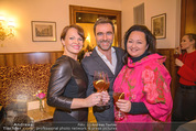 Kaffeesieder Cocktail - Cafe Hofburg - Di 09.01.2018 - Andie GABAUER, Tini KAINRATH, Christina HUMMEL5