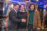 Life Guidance Kinopremiere - Gartenbaukino - Mi 10.01.2018 - Fritz KARL mit Sohn Aaron KARL, Elena UHLIG (schwanger)43