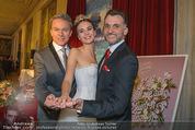 Opernball PK - Staatsoper - Do 11.01.2018 - Cassandra SALAMON, Roman SVABEK, Alfons HAIDER47