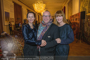 Opernball PK - Staatsoper - Do 11.01.2018 - Anelia PESCHEV, HC J�rgen Christian H�RL, Michele MEYER50