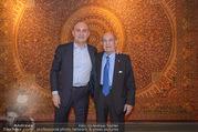 Empfang bei Ali Rahimi - Palais Szechenyi - Do 11.01.2018 - Ali RAHIMI mit Vater Abbas4