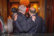 Empfang bei Ali Rahimi - Palais Szechenyi - Do 11.01.2018 - Michael H�UPL, Ali RAHIMI (von hinten)13