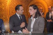 Empfang bei Ali Rahimi - Palais Szechenyi - Do 11.01.2018 - Robert GLOCK, Christiane WENCKHEIM26