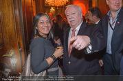 Empfang bei Ali Rahimi - Palais Szechenyi - Do 11.01.2018 - Maria VASSILAKOU, Michael H�UPL40
