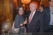 Empfang bei Ali Rahimi - Palais Szechenyi - Do 11.01.2018 - Maria VASSILAKOU, Michael H�UPL44