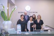Eröffnugn - Dermatologikum Wien - Fr 12.01.2018 - Rainer KUNSTFELD, Birgit KARLE mit Team3