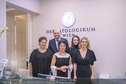 Eröffnugn - Dermatologikum Wien - Fr 12.01.2018 - Rainer KUNSTFELD, Birgit KARLE mit Team4