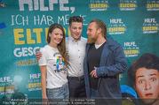 Kinopremiere ´Hilfe, ich hab die Eltern geschrumpft´ - Village Cinemas - Sa 13.01.2018 - Oskar KEYMER, Axel STEIN, Julia HARTMANN12