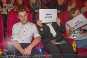 Kinopremiere ´Hilfe, ich hab die Eltern geschrumpft´ - Village Cinemas - Sa 13.01.2018 - Oskar KEYMER mit Mutter60