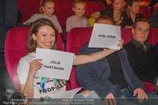 Kinopremiere ´Hilfe, ich hab die Eltern geschrumpft´ - Village Cinemas - Sa 13.01.2018 - Axel STEIN, Julia HARTMANN63