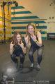 Promi Kniebeugen - Grex Gym - Di 16.01.2018 - Barbara KAUDELKA, Sigrid SP�RK1