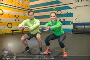 Promi Kniebeugen - Grex Gym - Di 16.01.2018 - Peter WINDHOFER, Tanja DUHOVICH11