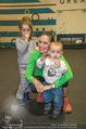Promi Kniebeugen - Grex Gym - Di 16.01.2018 - Tanja DUHOVICH mit Kindern Giorgos und Niki14