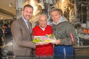 Charity Heringsschmaus Verkauf - Nordsee Naschmarkt - Do 25.01.2018 - Alexander PIETSCH, Alfons HAIDER, Arnold POLLAK12