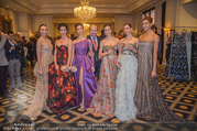Couture Salon mit Humanic - Hotel Birstol - Mo 29.01.2018 - Nikisha FOGO, Alice FIRENZE, Maria YAKOVLEVA, Dominique MEYER, N36