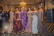 Couture Salon mit Humanic - Hotel Birstol - Mo 29.01.2018 - Nikisha FOGO, Alice FIRENZE, Maria YAKOVLEVA, Dominique MEYER, N37
