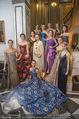 Couture Salon mit Humanic - Hotel Birstol - Mo 29.01.2018 - Gruppenfoto Solot�nzerinnen K�nstlerinnen auf Stiege78